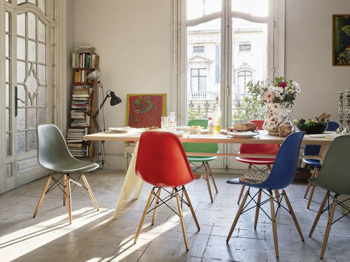 chaises DSW appartement