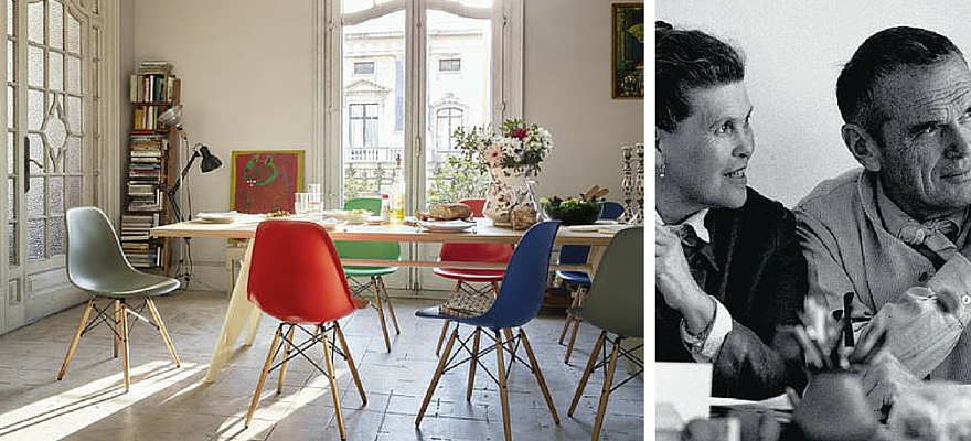chaises DSW vitra charles ray eames