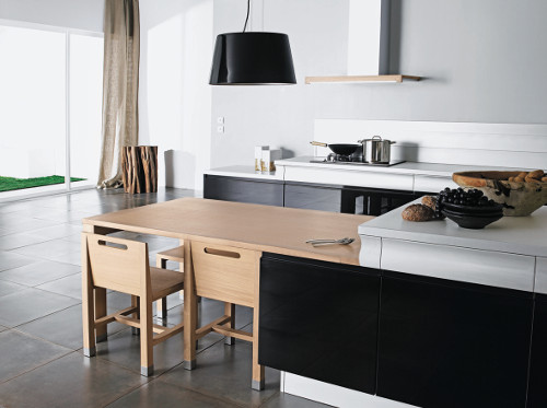 une cuisine moderne en bois c est possible le blog d 39 arthur bonnet. Black Bedroom Furniture Sets. Home Design Ideas